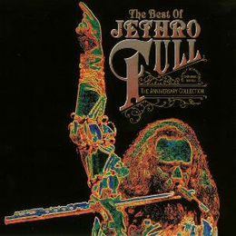 Kokoelmalevyn The Best of Jethro Tull – The Anniversary Collection kansikuva