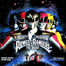 Soundtrack-albumin Mighty Morphin Power Rangers The Movie: Original Motion Picture Score kansikuva