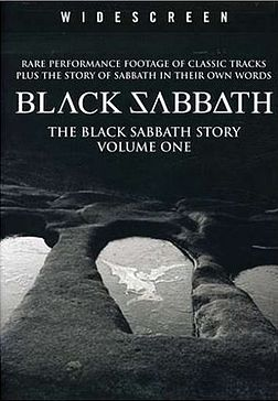 DVD-julkaisun The Black Sabbath Story, Vol 1 kansikuva