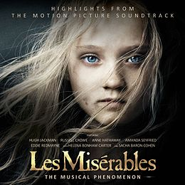 Soundtrack-albumin Les Misérables: Highlights from the Motion Picture Soundtrack kansikuva