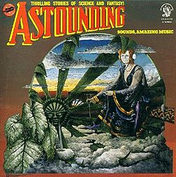 Studioalbumin Astounding Sounds, Amazing Music kansikuva