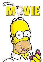 The Simpsons Movie DVD:n kansi
