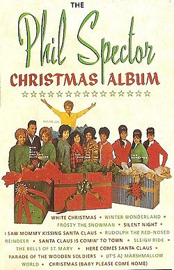 Kokoelmalevyn The Phil Spector Christmas Album kansikuva