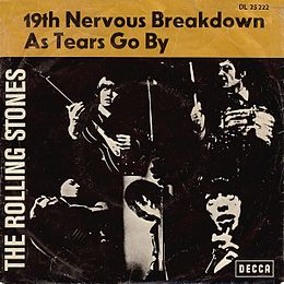 "Singlen ""19th Nervous Breakdown"" kansikuva"