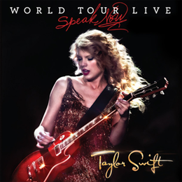Livealbumin Speak Now: World Tour Live kansikuva