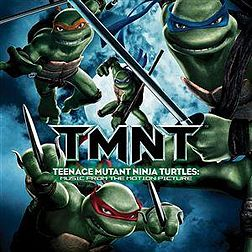 Soundtrack-albumin Teenage Mutant Ninja Turtles: Music from the Motion Picture kansikuva