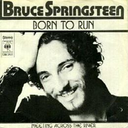 "Singlen ""Born to Run"" kansikuva"