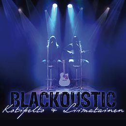 Studioalbumin Blackoustic kansikuva