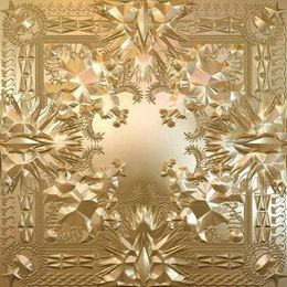 Studioalbumin Watch the Throne kansikuva