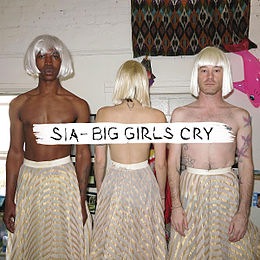 "Singlen ""Big Girls Cry"" kansikuva"