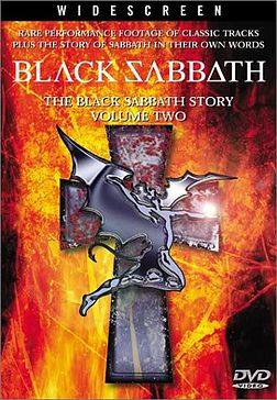 DVD-julkaisun The Black Sabbath Story, Vol 2 kansikuva