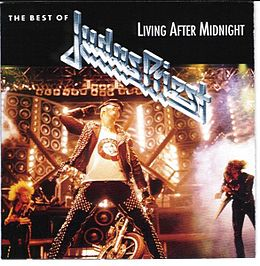 Kokoelmalevyn The Best Of Judas Priest: Living After Midnight kansikuva
