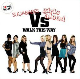 "Singlen ""Walk This Way"" kansikuva"