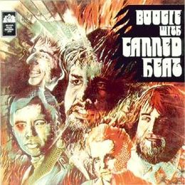 Studioalbumin Boogie with Canned Heat kansikuva
