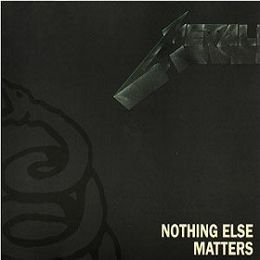 "Singlen ""Nothing Else Matters"" kansikuva"