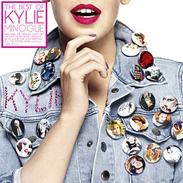 Kokoelmalevyn The Best of Kylie Minogue kansikuva