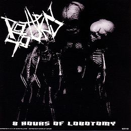 Split-albumin 8 Hours of Lobotomy / Wrath kansikuva