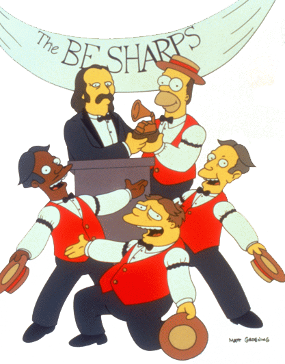 Homers Barbershop Quartet
