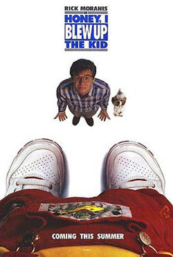 Honey I blew up the kid film poster.jpg