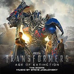 Soundtrack-albumin Transformers: Age of Extinction – The Score kansikuva