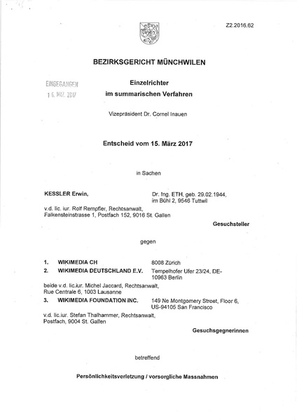 File:Erwin Kessler v. Wikimedia Foundation judgement March 17, 2017.pdf