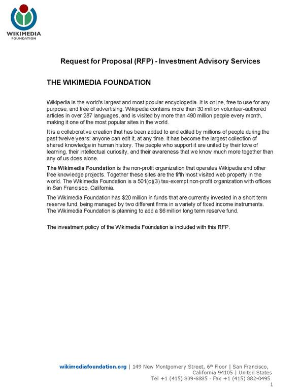 File:Wikimedia Foundation Request For Proposal Investment Advisory