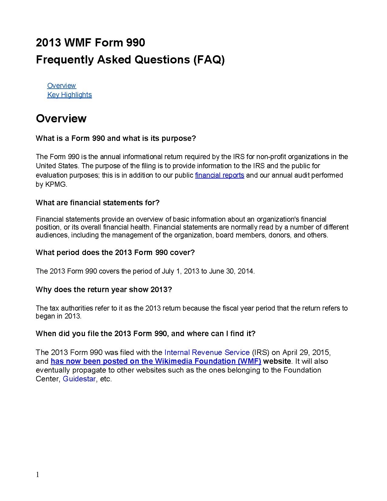 File:Form 990 Questions and Answers 2013.pdf - Wikimedia Foundation ...