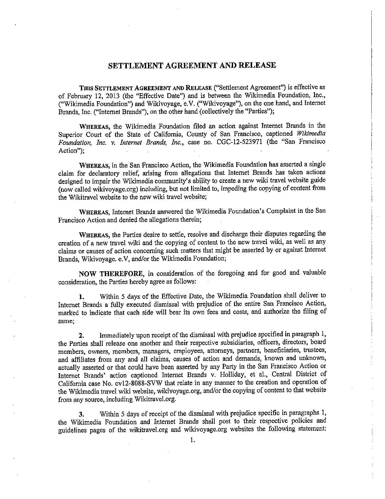 20 best of letter agreement whereas graphics complete letter template filewmf ib 021213 signed settlement agreement pdf wikimedia platinumwayz