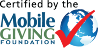 Certified by the Mobile Giving Foundation