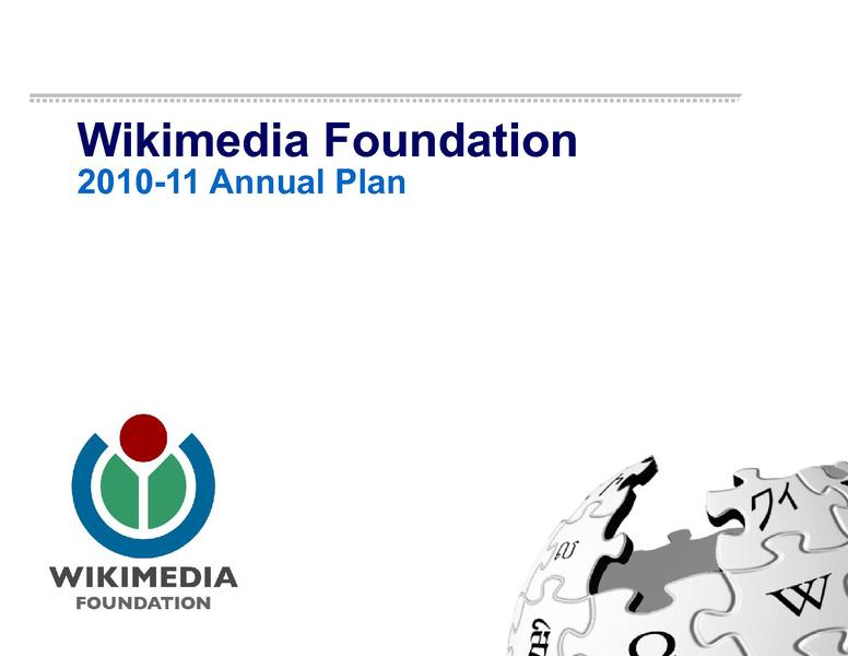 File:2010-11 Wikimedia Foundation Annual Plan FINAL FOR WEBSITE.pdf