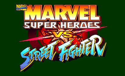 Fichier:Marvel Super Heroes vs. Street Fighter Logo.png ...