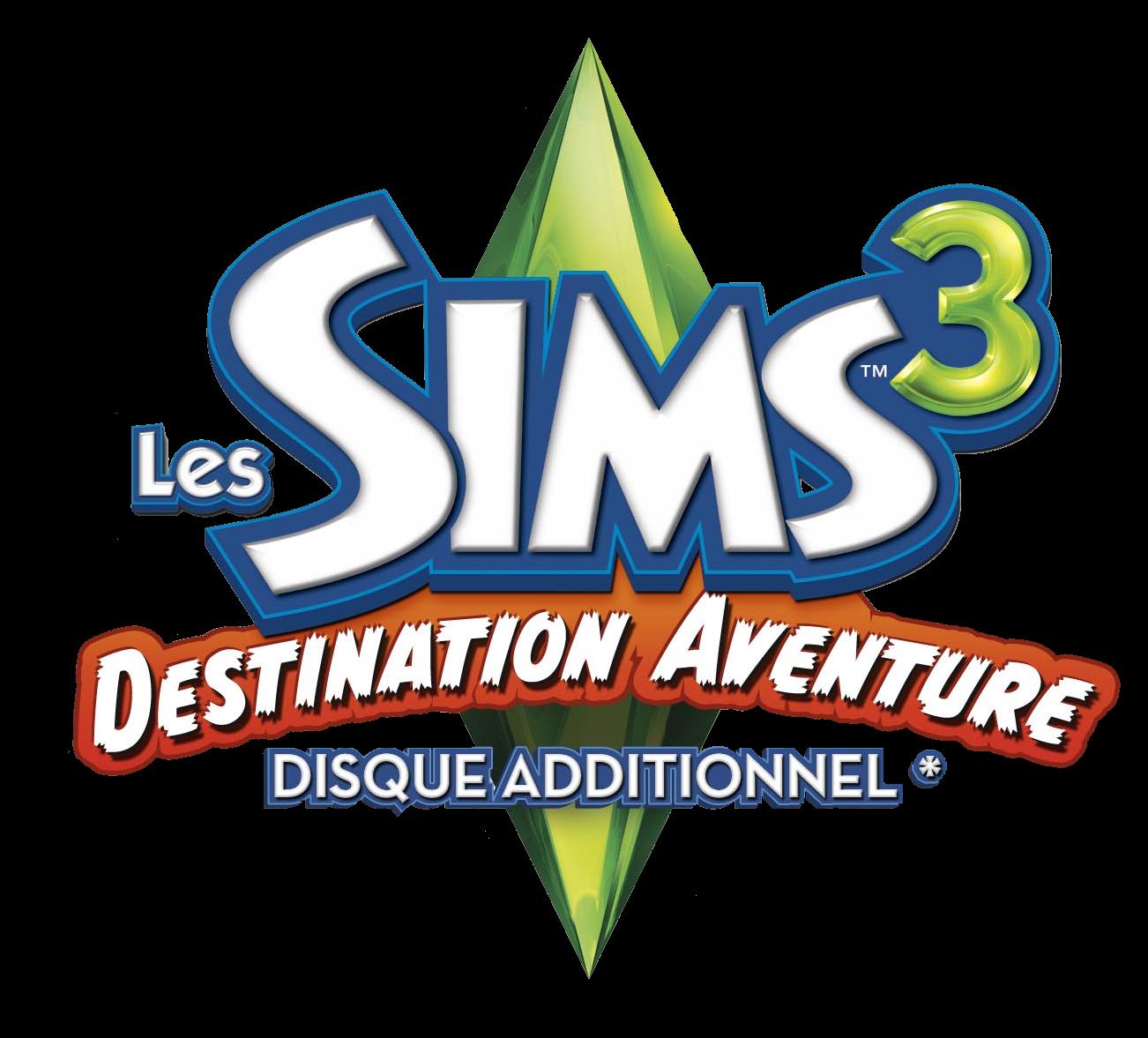 Fichier les sims 3 destination aventure logo