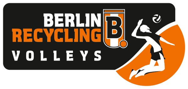 Logo Berlin Recycling Volleys on 8 Max 2000