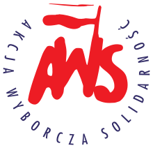 """logo officiel de Akcja Wyborcza """"Solidarność"""" - AWS"""