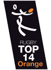 Description de l'image Logo Rugby Top14 Orange.png.