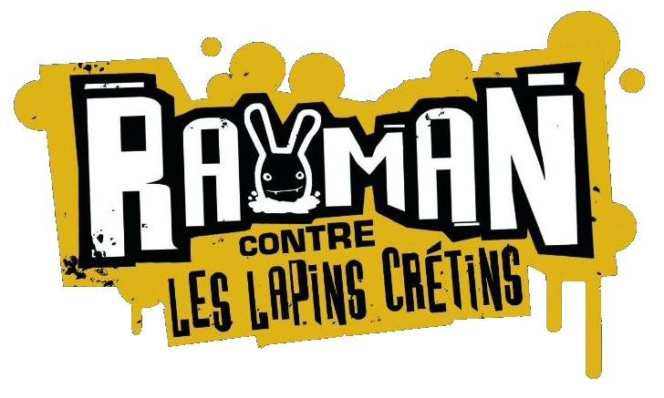 Fichier:Rayman contre les lapins crétins Logo.png