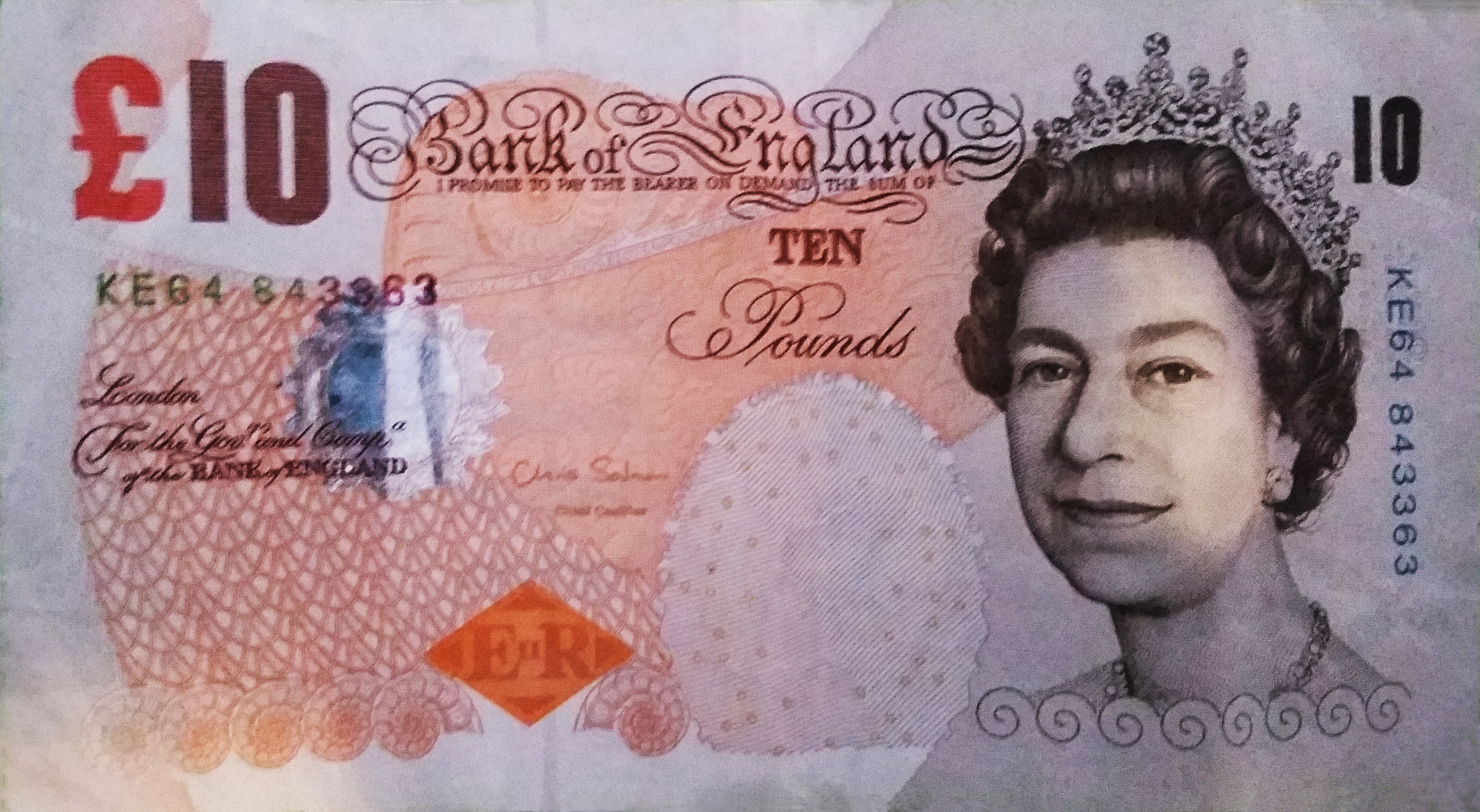billet de banque uk
