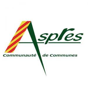 Blason de Communauté de communes des Aspres