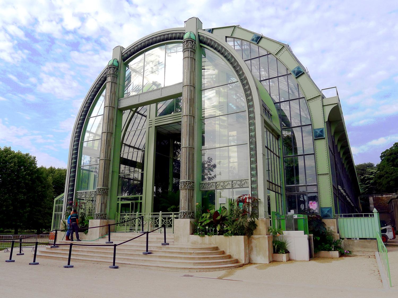serre jardin des plantes paris
