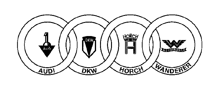 Fichier Logo Auto Union Png Wikip 233 Dia
