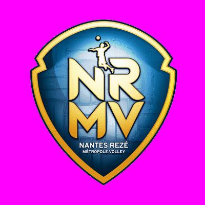 Logo du Nantes Rezé Métropole Volley