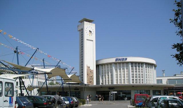 Gare De Brest Wikip 233 Dia