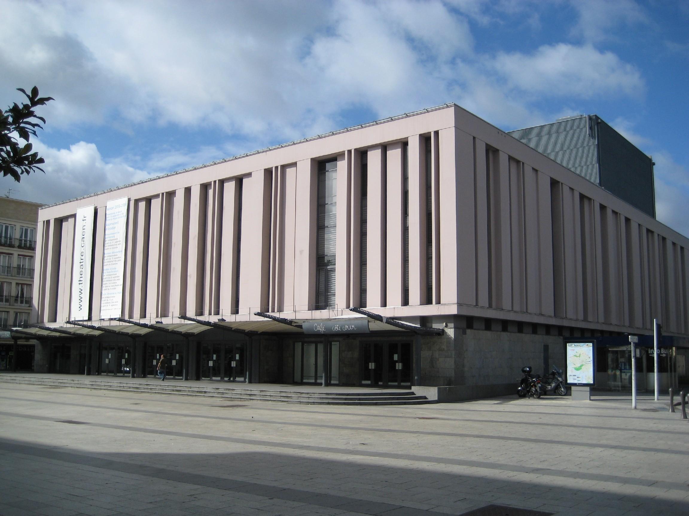 salle theatre caen