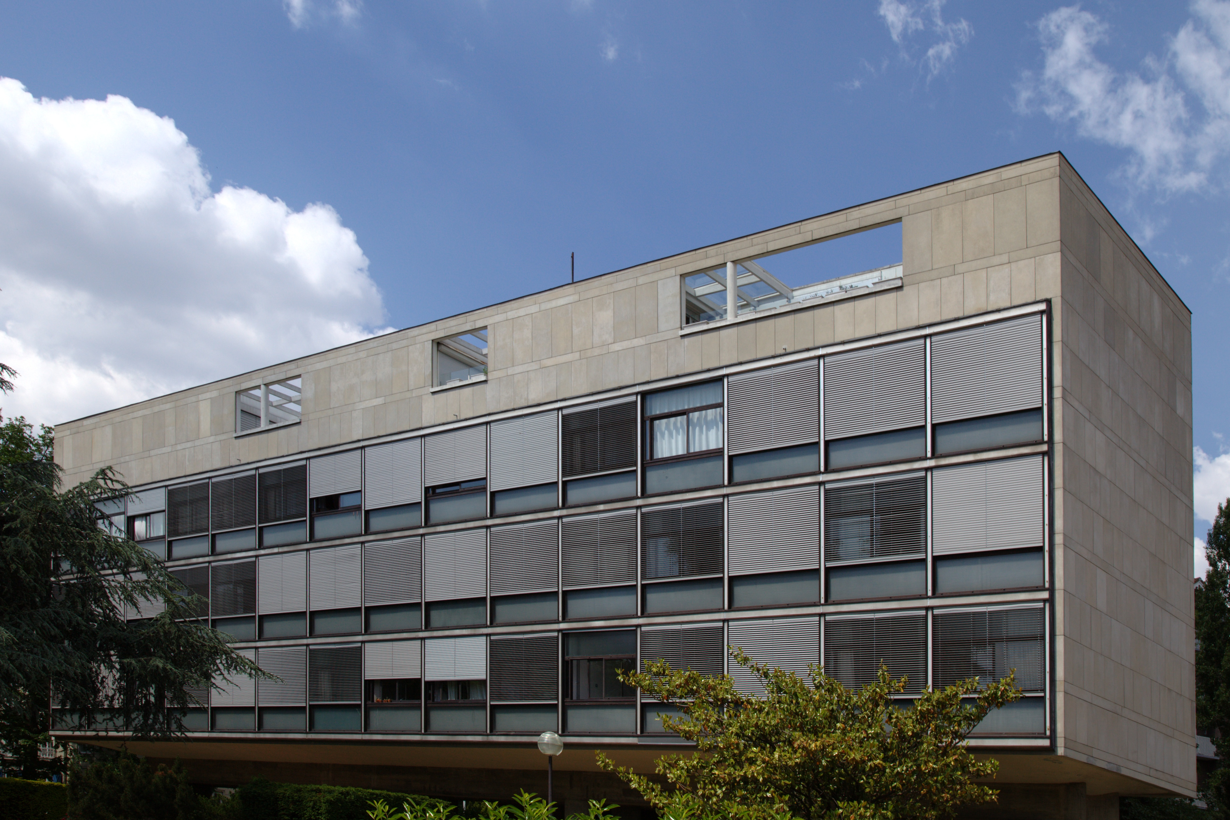 Fondation Suisse vue de la façade Sud