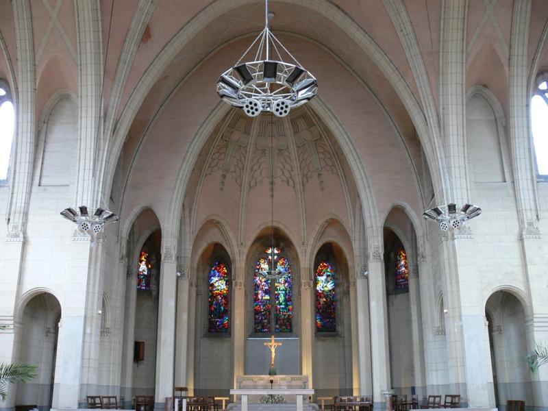 Glise sainte th r se de l 39 enfant j sus de villers l s - Eglise sainte therese guilherand granges ...