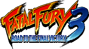 Présentation VGC1612 Fatal_Fury_3_Road_to_the_Final_Victory_Logo