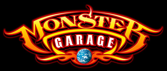Monster garage wikip dia for Logo garage mecanique