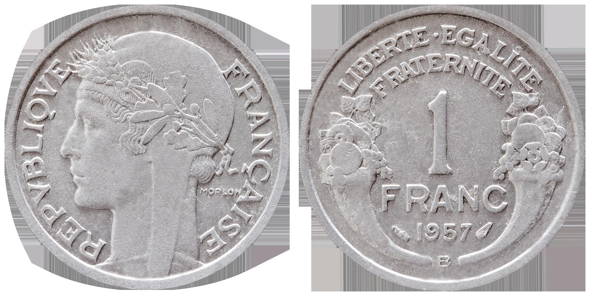 piece de monnaie 1 franc 1947