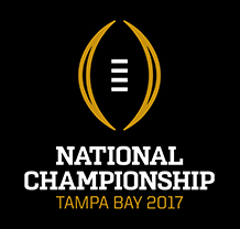 national championship game college football college football playoff logo