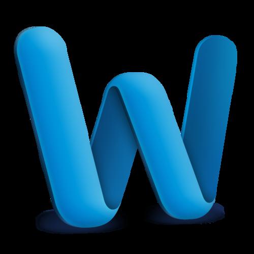 image logo word